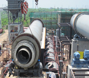 pyrolysis plant contsruction