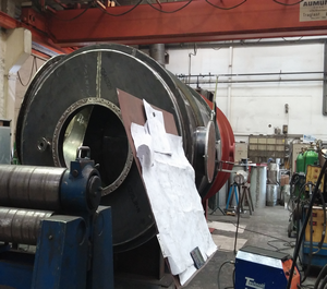 pyrolysis equipment fabrication