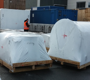 pyrolysis equipment packing